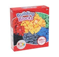 Set de construit 200 piese (compatibil LEGO)