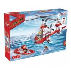 Set de construit Banbao - Elicopter pompieri