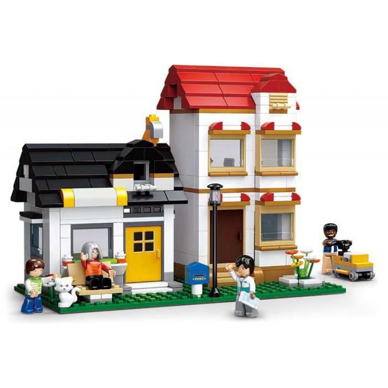 Set de construit Sluban - Apartamentul lui Banya si Roufis