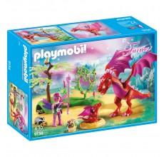 Set de joaca Playmobil - Dragonul prietenos cu puiul sau