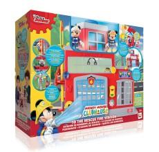 Statia de pompieri interactiva Mickey Mouse Disney