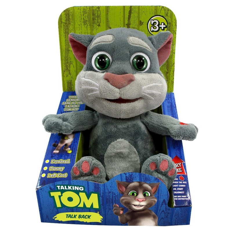 Talking Tom - interactiv din plus