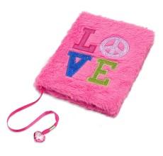 Agenda nedatata design Love cu puf