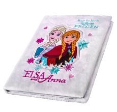 Agenda nedatata Frozen Disney cu puf