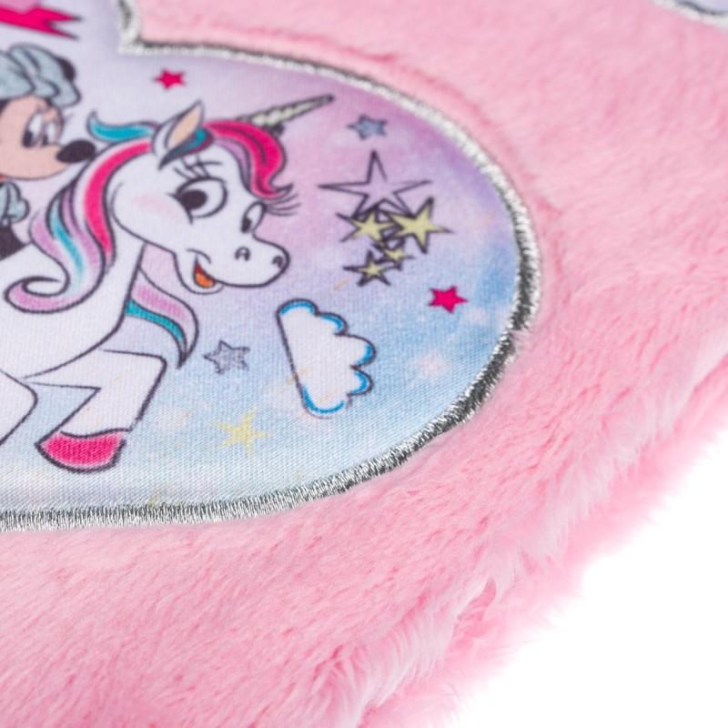 Agenda nedatata Minnie Mouse Disney cu puf