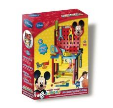 Banc de lucru Mickey Mouse Disney cu 38 piese