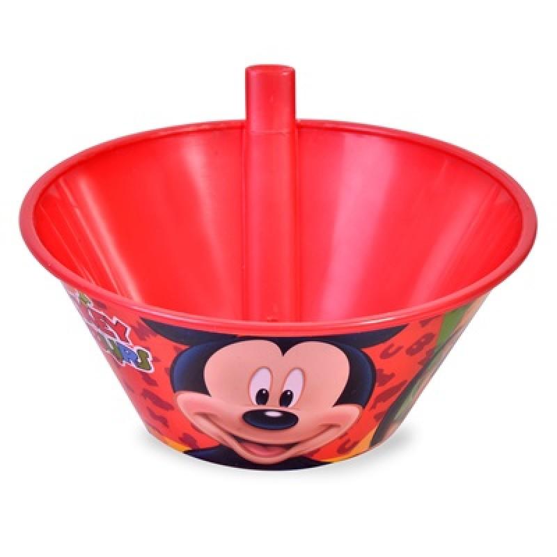 Bol cu pai din plastic Mickey Mouse Disney