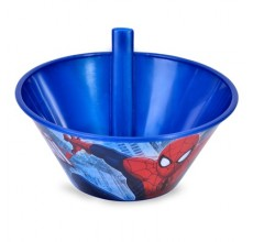 Bol cu pai din plastic Spiderman