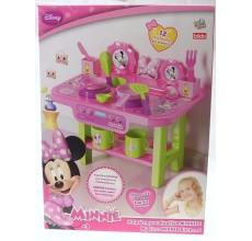 Bucatarie Minnie Mouse Disney cu 12 accesorii