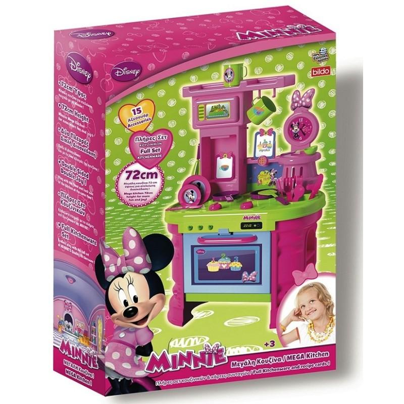 Bucatarie Minnie Mouse Disney cu 15 accesorii