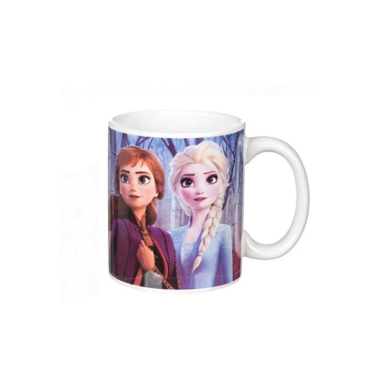 Cana ceramica Anna si Elsa Frozen Disney