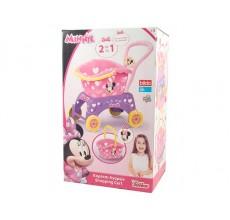 Carucior cumparaturi 2 in 1 Minnie Mouse Disney