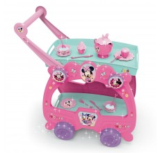 Carucior Minnie Mouse Disney cu 19 accesorii ceai