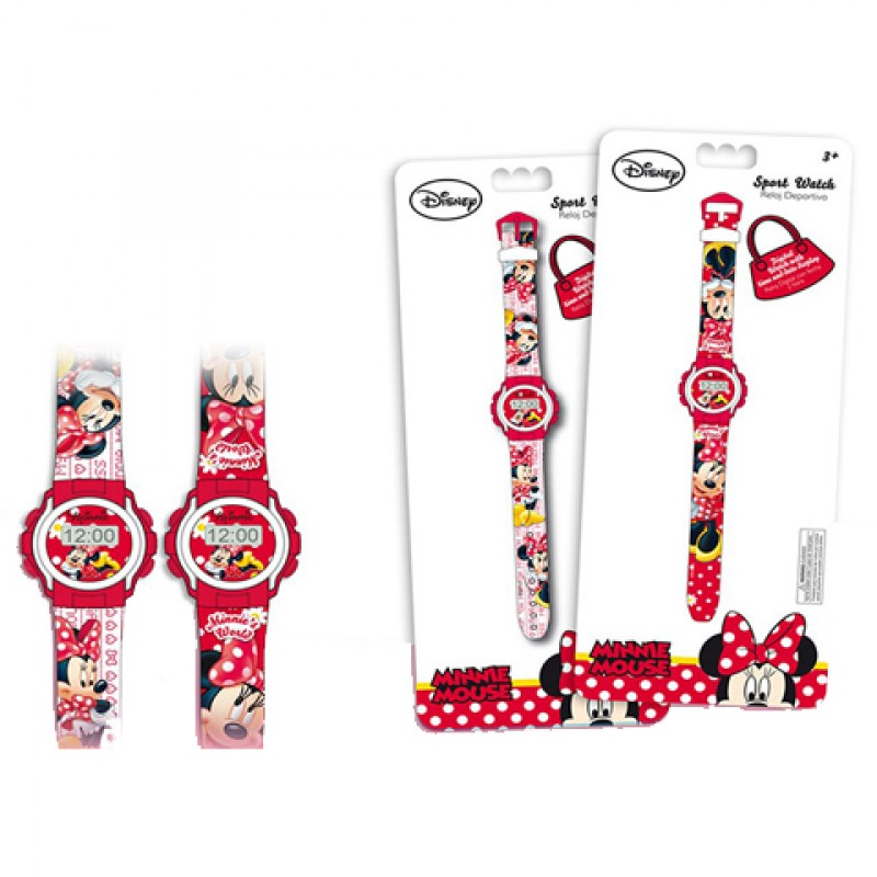 Ceas de mana digital Minnie Mouse Disney