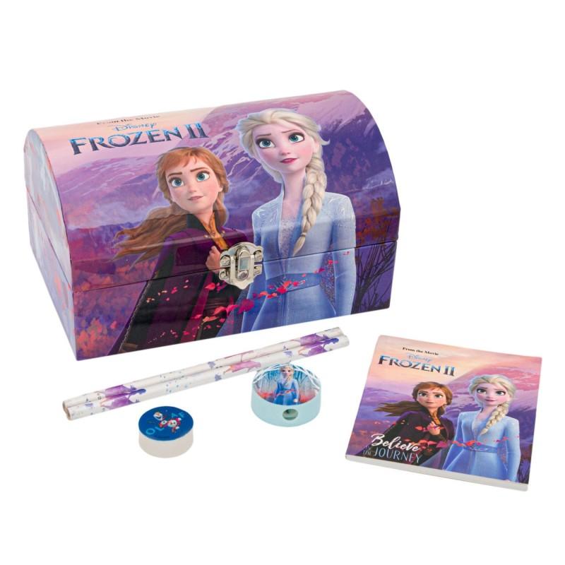 Cutie bijuterii Frozen Disney cu accesorii