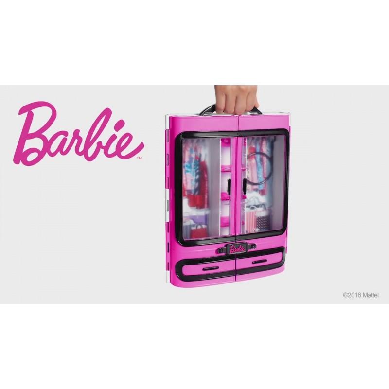 Dulapiorul lui Barbie cu accesorii