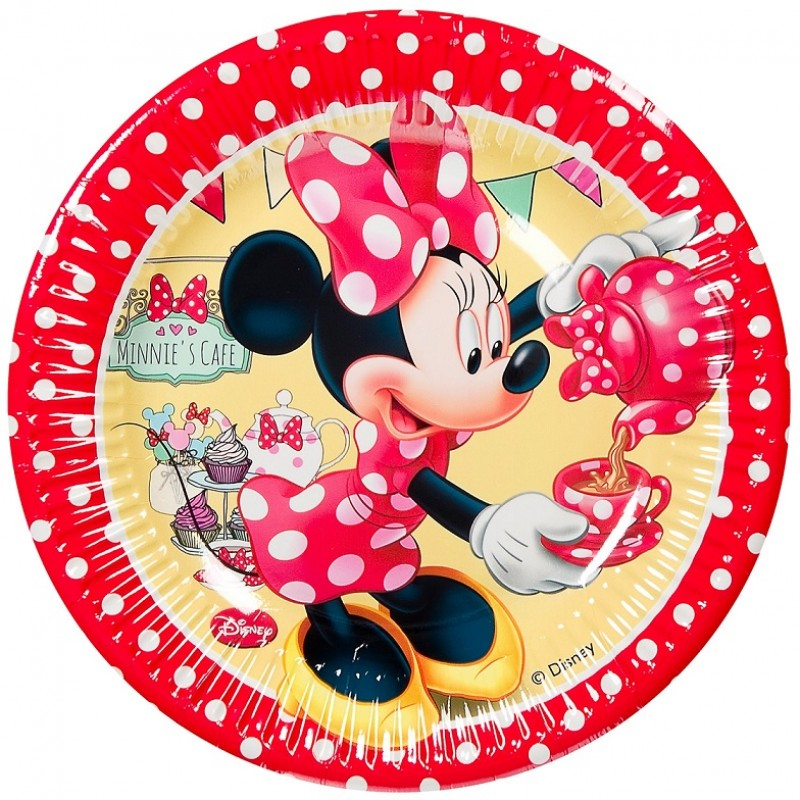 Farfurii party carton Minnie Mouse Disney