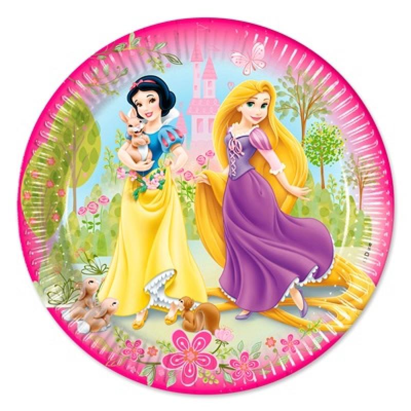 Farfurii party carton Princess Disney