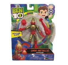 Figurina Ben 10 - Torta Vie (12 cm) - Omni-Metallic