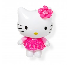 Figurina gonflabila Hello Kitty