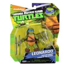 Figurina Testoasele Ninja - Leonardo cu accesorii
