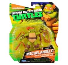 Figurina Testoasele Ninja - Michelangelo cu accesorii
