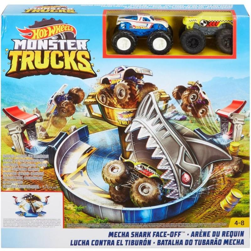 Hot Wheels Monster Trucks - Rechinul furios