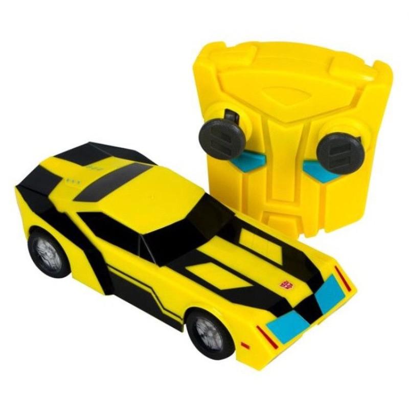 Masina Bumblebee Transformers cu lumini si telecomanda