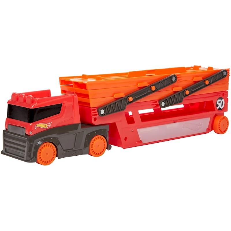 MEGA camionul de transport masinute Hot Wheels