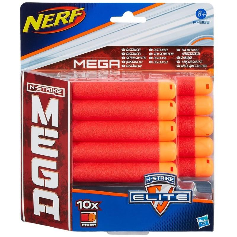 Nerf - N-Strike Elite MEGA Set rezerva munitie - 10 bucati