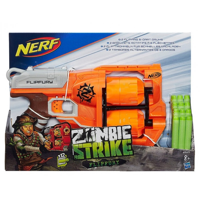 Nerf - N-Strike Zombie Strike Flipfury