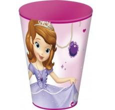 Pahar Printesa Sofia Intai Disney din plastic