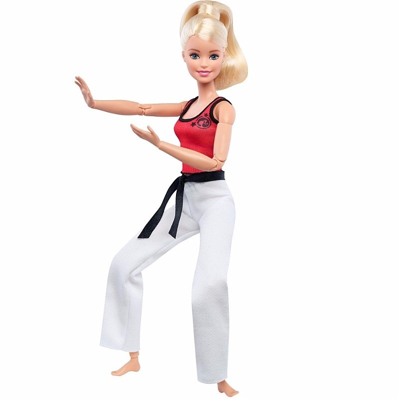 Papusa Barbie Made to move - KARATE