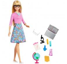 Papusa Barbie profesoara de stiinte cu accesorii