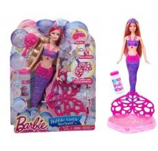 Papusa Barbie Sirena cu bule