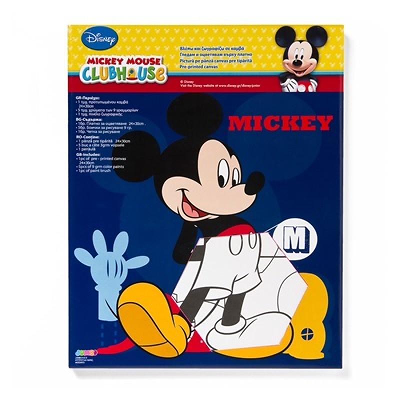 Pictura pe panza Mickey Mouse Disney