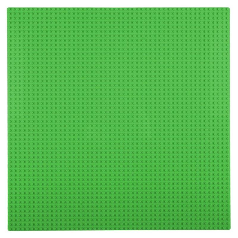 Placa pentru constructii - compatibila LEGO dimensiune medie (verde)
