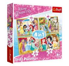 Puzzle Princess Disney 4 in 1