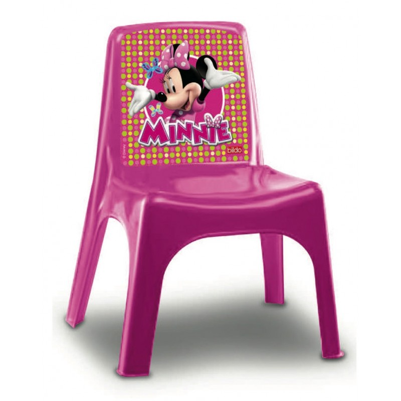 Scaunel plastic Minnie Mouse Disney