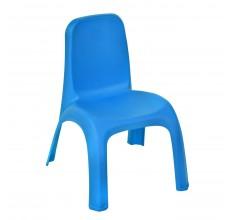Scaunel plastic pentru baieti - albastru