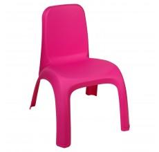 Scaunel plastic pentru fetite - roz