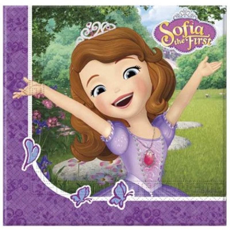 Servetele din hartie Printesa Sofia Intai Disney