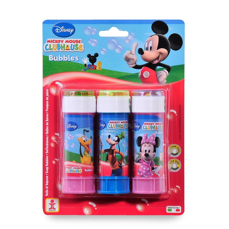 Set 3 recipiente baloane de sapun Mickey Mouse Disney
