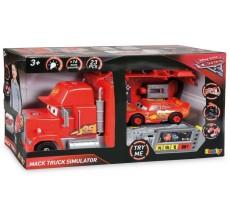Simulator Cars Mack cu masinuta Fulger McQueen cu sunet si lumini