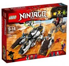 LEGO NINJAGO - Avion pentru incursiuni invizibil