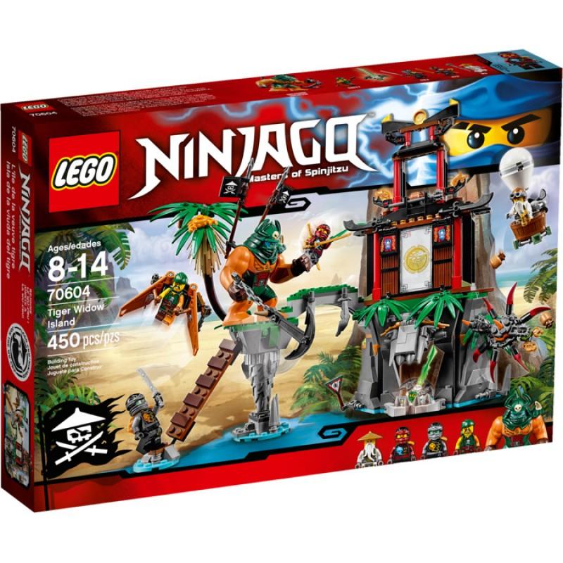LEGO NINJAGO - Insula tigrului Widow