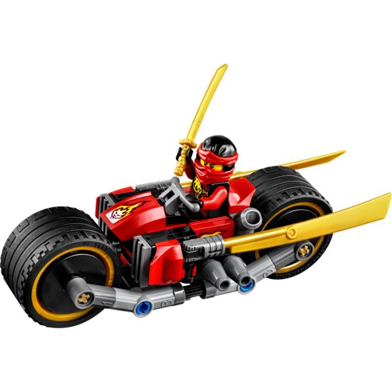 LEGO NINJAGO - Urmarirea Ninja cu biciclete