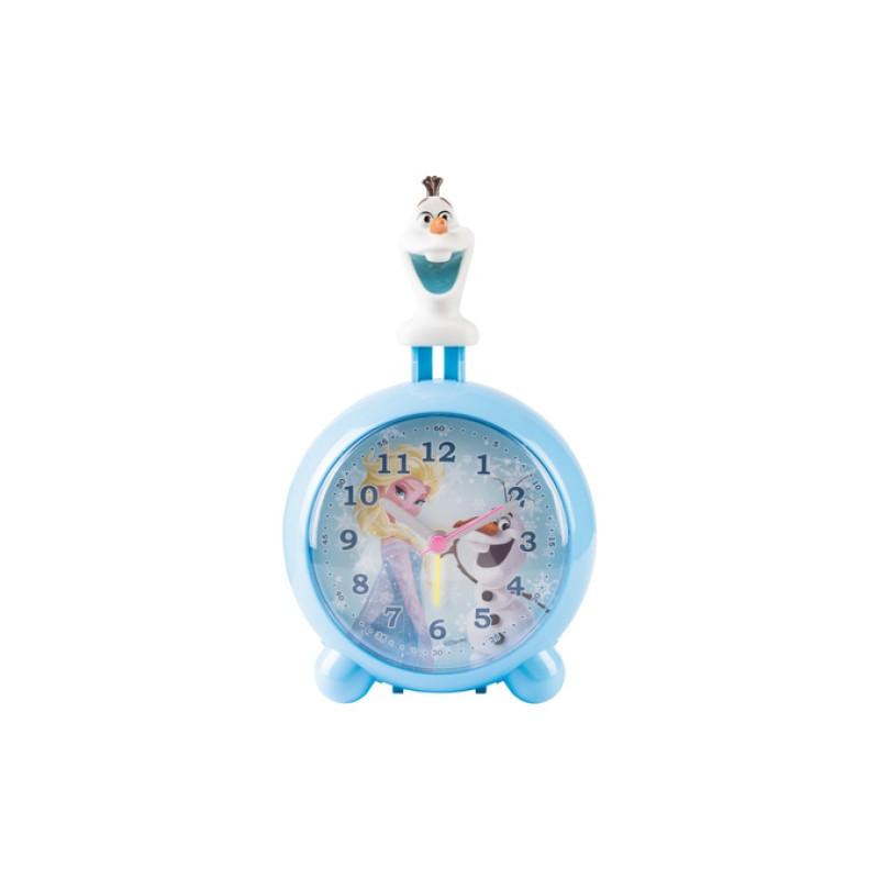 Ceas cu alarma si figurina Frozen Disney