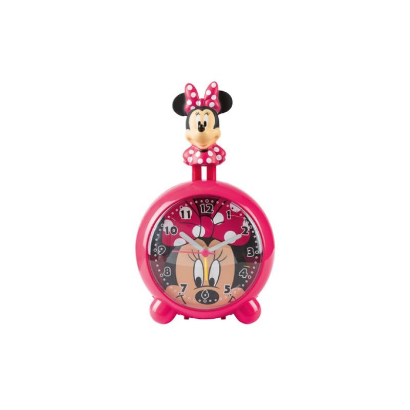 Ceas cu alarma si figurina Minnie Mouse Disney