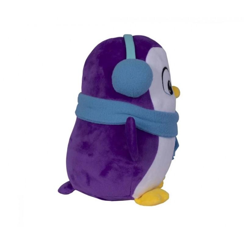 Jucarie de plus interactiva Snuggle N Hug - Pinguin